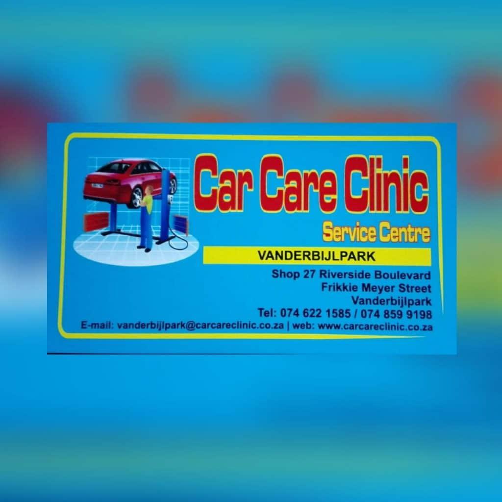 Car Care Clinic Vanderbijlpark