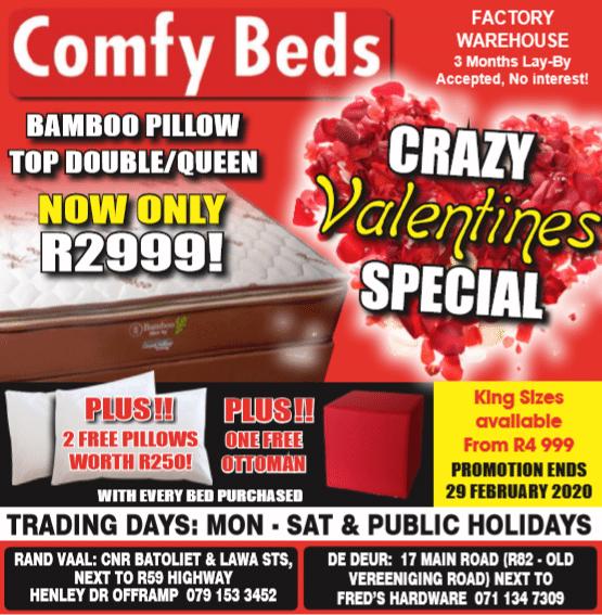 Comfy Beds Randvaal 2