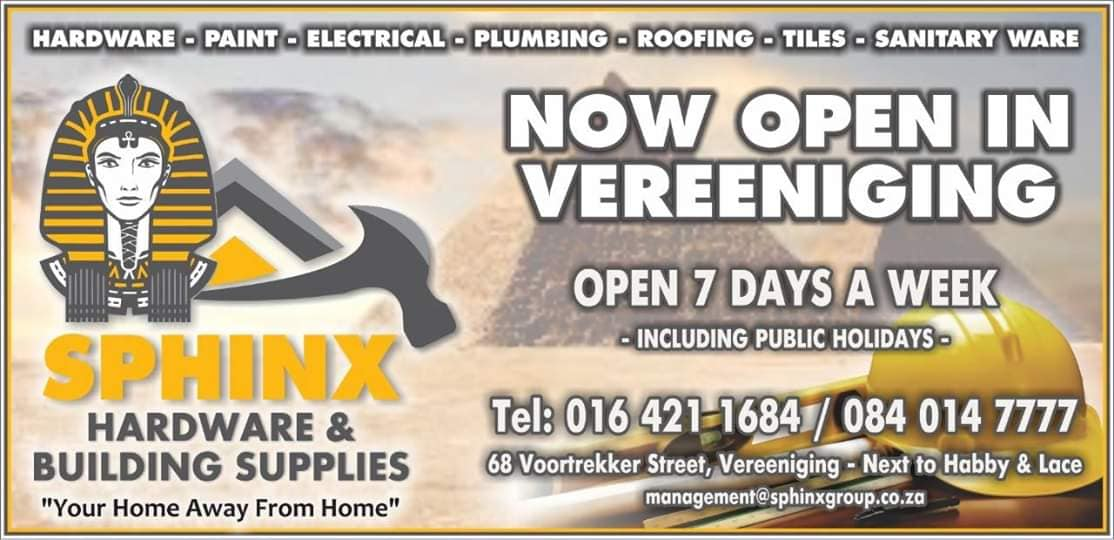 Sphinx Hardware and Building Supplies Vereeniging 2